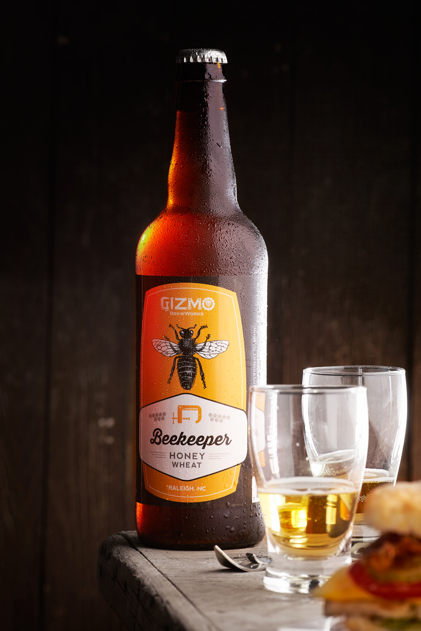 Beekeeper-Honey-Wheat-Beer-Bottle | North Carolina