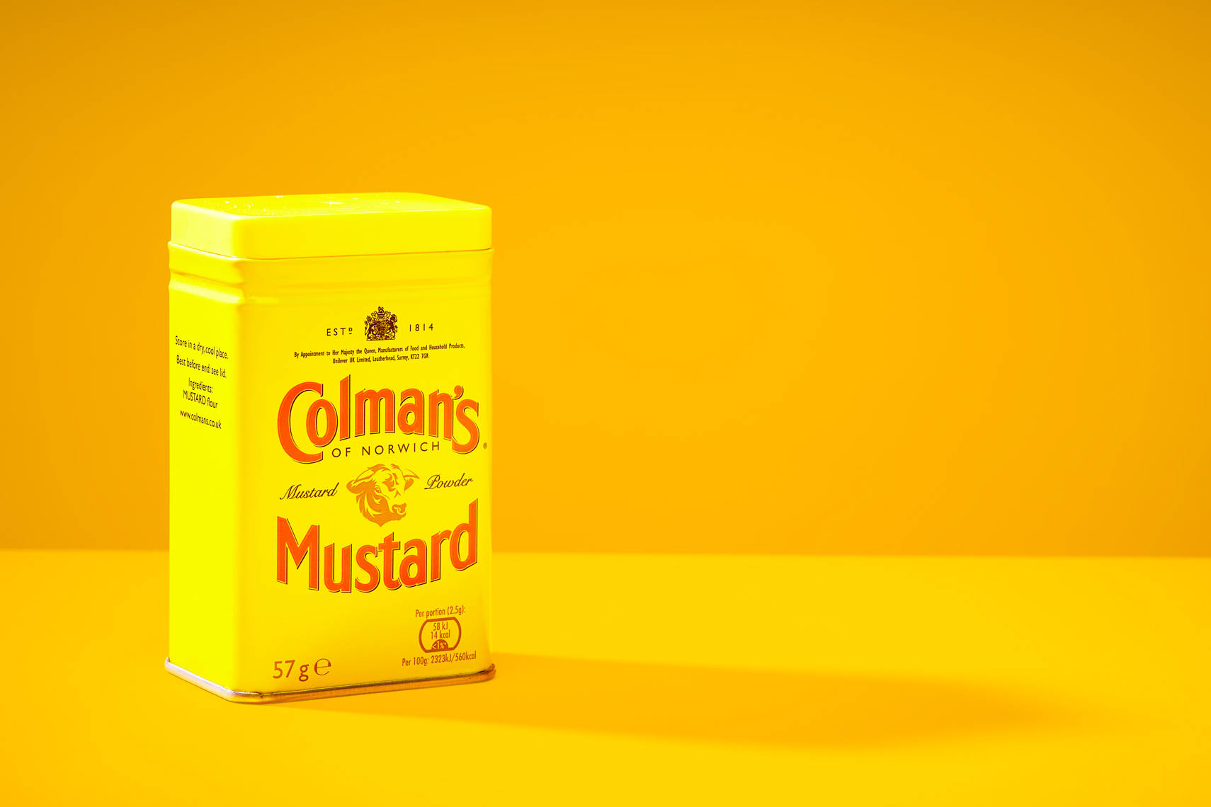 Colmans-Mustard-powder-can-yellow