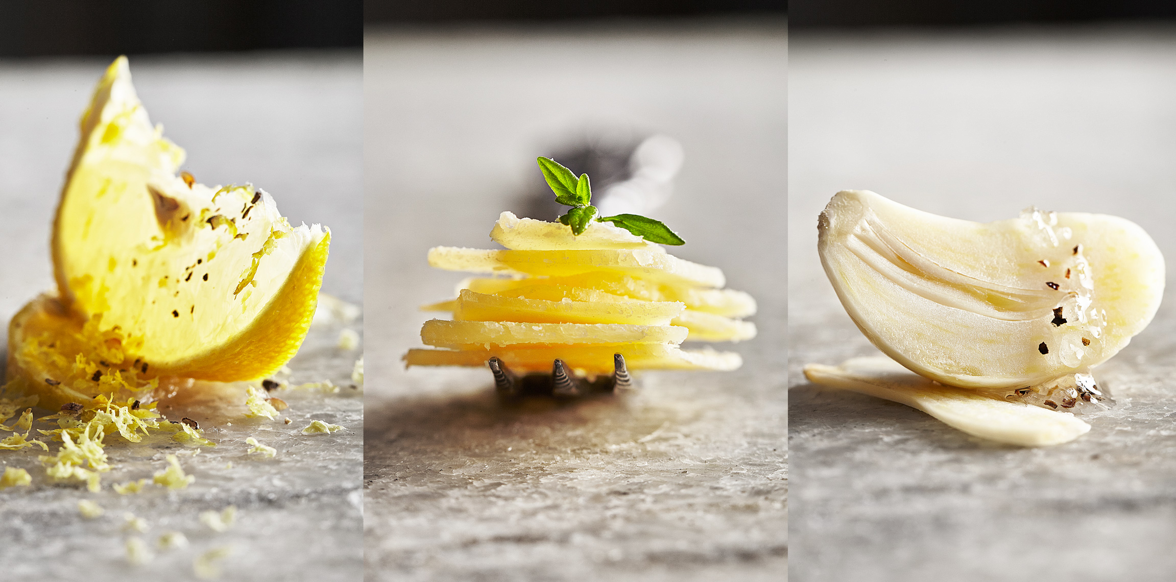 Lemon-Zest-Parmesan-Cheese-Garlic-Olive-Oil-Marble-Triptych_rfc